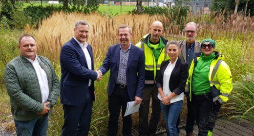 green landscaping välkommenframtiden avsiktförklaring 2018