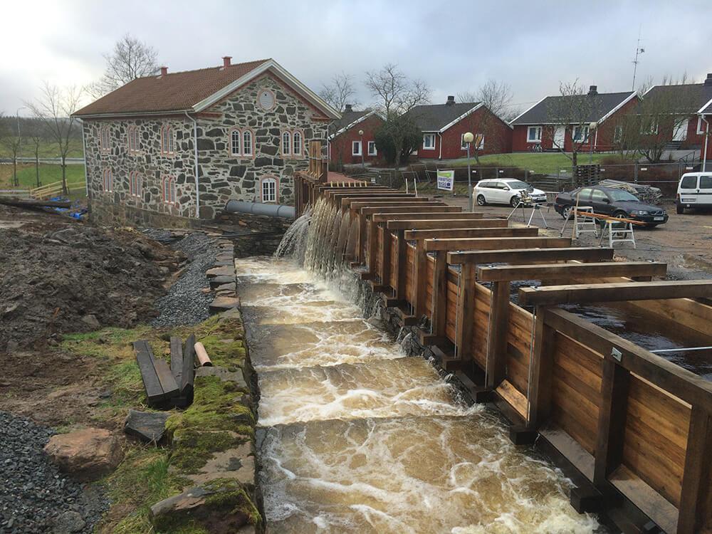 Vattenkraftverk i Sätila