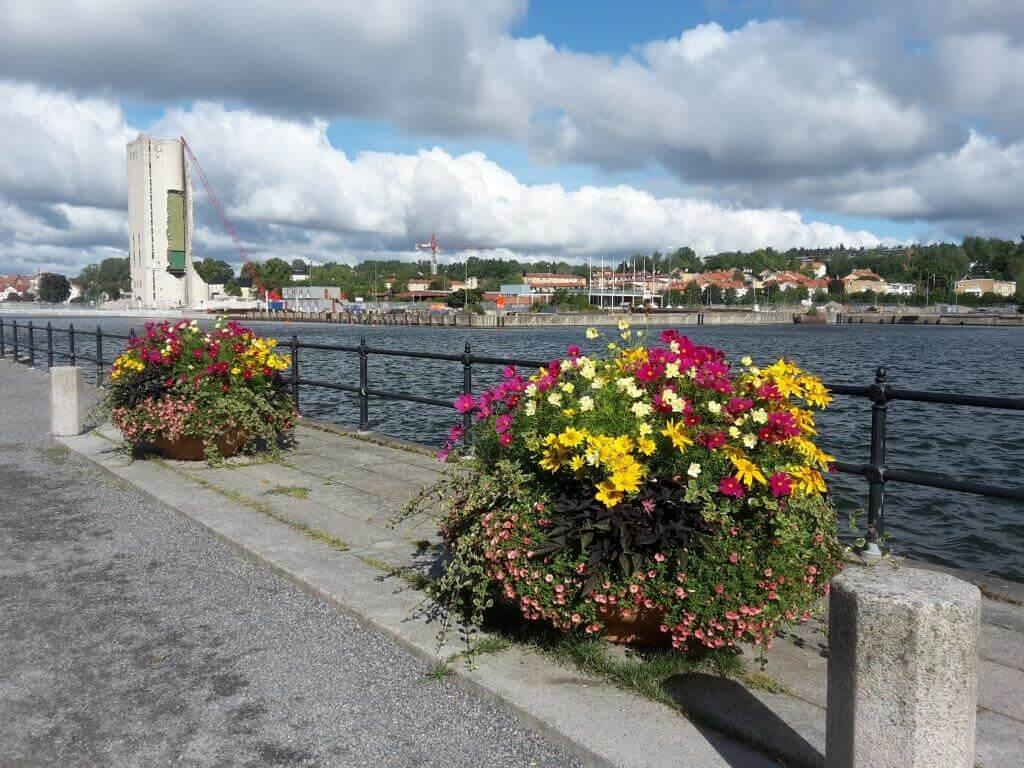 Vy mot Norrtälje hamn